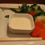 花一食堂 - 温野菜サラダ