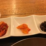 韓国家庭料理 チェゴヤ - 韓国惣菜3種