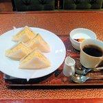 オクダローストカフェ - サンドウィッチモーニング