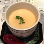 旬菜旬肴 きらり - 煮穴子の茶碗蒸し