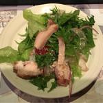 旬菜旬肴 きらり - スモークチキンの柚子胡椒サラダ