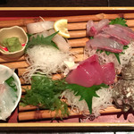 旬菜旬肴 きらり - 九州直送鮮魚4種盛り