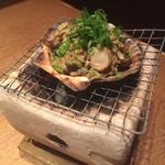 和・ダイニング らご - 帆立のカニ味噌焼き770円