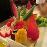 52714299 - 季節野菜のバーニャカウダ