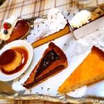 52715467 - ドルチェのケーキは6種類からいただく直前に選べます