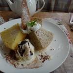 ニドファ - シフォンケーキ