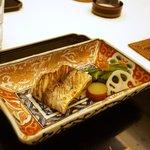 青柳 - 太刀魚の焼き物