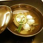 青柳 - 鱧のお椀