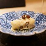 ぎんざ 一二岐 - 揚げた水無月豆腐