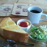 サーティーズ カフェ - 分厚いトースト