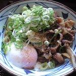 5272251 - 肉玉ごぼうぶっかけ(並)430円('10.10)