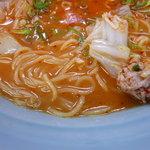 旭川ラーメン - 麺とスープ