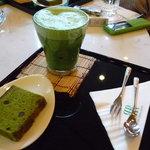 リーガロイヤルホテル メインラウンジ - ☆お抹茶ラテセット(≧▽≦)/~♡☆