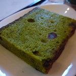 リーガロイヤルホテル メインラウンジ - ☆パウンドケーキも抹茶たっぷり♪☆