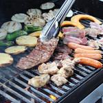 アジアンキャンプリゾート Tapa - 肉350g野菜7種類やきそばつきボリューム満点