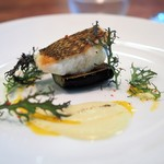 Le Salon de Legumes - 真鯛のポワレ ホワイトアスパラガスのソース