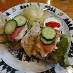 シャレー スイス ミニ - 全粒バゲットのサンドイッチ