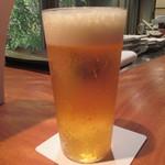 バンブー グラッシィ - やはりビールですね♪