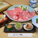 割烹 しが - 料理写真:霜降り和牛コース   3,780円