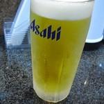 味力亭 - ビール