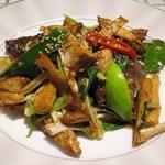52726446 - 鹿肉の台湾式ライム炒め