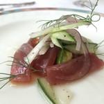 シェ大見山 - 料理写真:マグロのカルパッチョ
