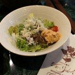 シェ・リュイ - ランチ共通のサラダ