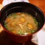 いち - 味噌汁