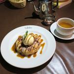 カフェ ラ・ボエム - ボエムの定番アップル・タルト