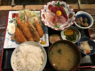 かもめ丸 - 漁火定食 2160円