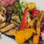 イゾラ ブル - 炭火焼き野菜の盛り合わせ【2016年3月】