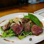 ぽうちゃたつや - 宮古牛カルビグリルたっぷり野菜サラダ仕立て 2,000円