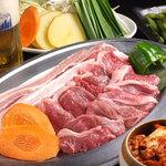 横浜ビアホール KIMURAYA - お肉のWメイン!ジンギスカン&サムギョプサル+サラダバイキング付【2時間食べ飲み放題】⇒3280円