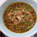 ポパイラーメン 香港料理 - 料理写真:肉ニラ辛ラーメン