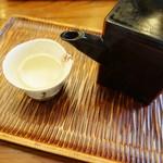 助六 - 蕎麦湯