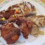 空桜 - 豚肉と鶏肉