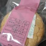 お菓子のいしはら - 喜久最中・小豆あん(2016/6)