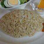 シーカフェ - 玄米ご飯 2016年5月