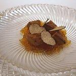 レストラン・パッション - フォアグラのロワイヤル、サマートリュフ風味