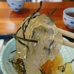 菓富庵かどや - ところてん(三杯酢)(500円)
