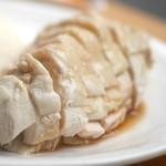 海南鶏飯食堂2 - 海南鶏飯「大」はボリュームたっぷり