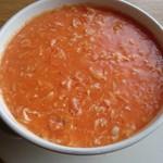 52741414 - 蟹の玉子入りふかひれスープ
