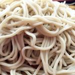 京屋 - お蕎麦アップ