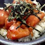 京屋 - ミニ照焼き丼