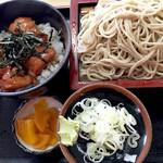 京屋 - ミニ照焼き丼セット870円