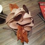 リンツショコラカフェ - リンツ・ソフトクリーム・ミックス699円
