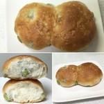 52742502 - すっごい枝豆パン 180円