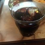 なぎ食堂 - セットのアイスコーヒー