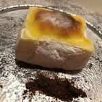 西麻布 いちの - 玉蜀黍焼き葛餅