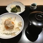 西麻布 いちの - サマートリュフとウニご飯(絶品)